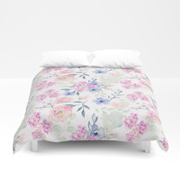 violet Duvet Cover by sylviacookphotography