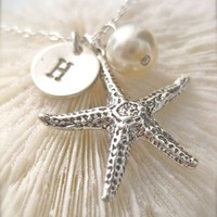 Saving Starfish  Personalized with a Petite by onelifejewelry