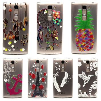 AKABEILA Phone Case Cover For LG Optimus G4 Mini Relief Cover Case Phone Accessories For LG Magna C90Y90 Volt 2 LS751 G4C Bags
