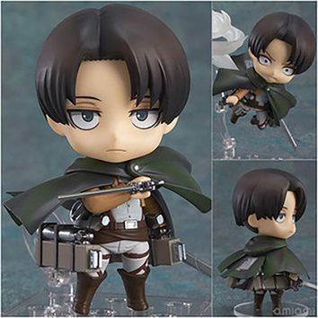 Cool Attack on Titan ,10 CM PVC Figure Collectible Toys ,Cute Dolls Action Figures Statue , Anime Figure Figurines Kids Toys AT_90_11