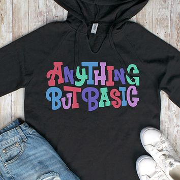 Anything But Basic Wave Wash Hoodie