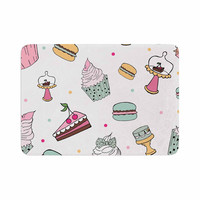 "Louise ""Sweet Sweet Cake"" Pastel Food Memory Foam Bath Mat"