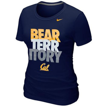 Cal Bears Nike Women's Local Slim Fit T-Shirt – Navy Blue