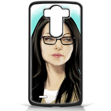Orang Is New Black Art Painting Alex Vause for LG G3 Case