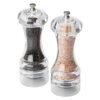 Olde Thompson Pink Himalayan Salt & Pepper Mill Set
