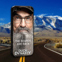Si Robertson Of Duck Dynasty Fame - ArtCover - Hard Print Case iPhone 4/4s, 5, 5s, 5c and Samsung S3, S4