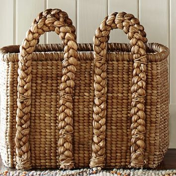 BEACHCOMBER HIGH RECTANGULAR BASKET