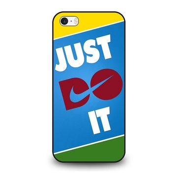 JUST DO IT 2 iPhone SE Case Cover