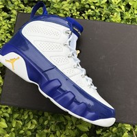 "Nike Air Jordan 9 Retro ""Kobe Bryant"" Lakers PE 302370-121 Basketball Sneaker"