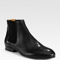 Leather Ankle Boots - Zoom - Saks Fifth Avenue Mobile