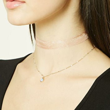 508185758796f Layered Choker Set from Forever 21