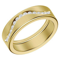 AMAZING CZ STUD 925 STERLING SILVER ENGAGEMENT AND WEDDING BAND FOR HER