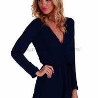 Fairytale Playsuit - Navy