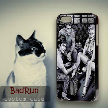 James Dean Audrey Hepburn Marilyn Monroe Tattoo - iPhone cases 4/4S Case iPhone 5/5S/5C Case Samsung Galaxy S3/S4 Case