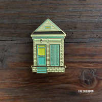 Shotgun House Enamel Pin