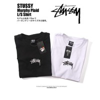 spbest Stussy Embroidered Logo T-Shirt