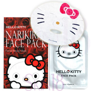 Sanrio Character Hello Kitty Narikiri Face Pack (Rose Essence)