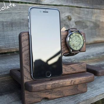 Personalized DESK organizer, docking station, Charging Station