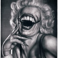 """Marilyn's Smile"" - Art Print by Rodger Pister"