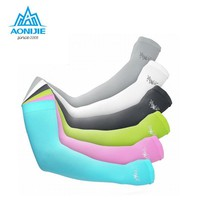 Arm Warmers Summer Sunscreen Breathable Cuff Sleeve Cover Sport Hiking UV Protected Arm Warmers Running Gloves