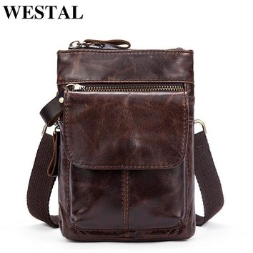 Crossbody  Leather Bag for Men