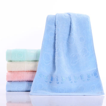 Bedroom Hot Deal On Sale Cotton Butterfly Thicken Soft Environmental Towel [6381758662]