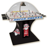 Super Chexx USA vs Canada Bubble Hockey Games from ICE. Official Licensed Product of USA Hockey and Hockey Canada.