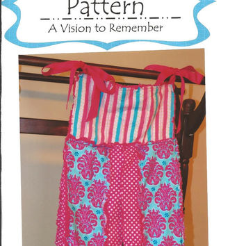 Diaper Stacker Sewing Pattern, Rag Quilt Patchwork Style, Mailed 1 Business Day