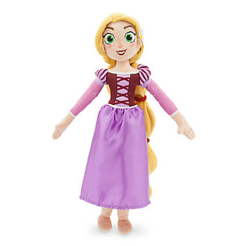Disney Store Rapunzel Plush Doll Tangled the Series Medium 19'' New