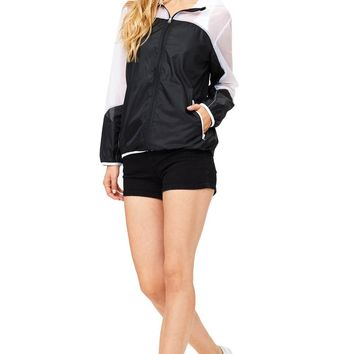 Sheer Block Windbreaker