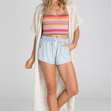 Billabong - Sundancer Long Cardigan | White Cap