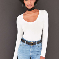 Kimchi Blue Winny Scoop-Neck Tee - Urban Outfitters