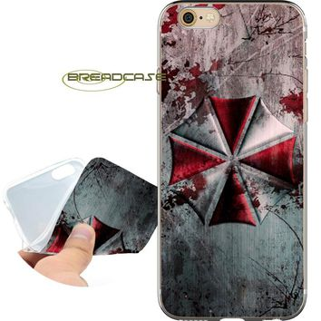 Coque Resident Evil Umbrella for iPhone XS Max XR X 10 7 8 6 6S Plus 5S 5 SE 5C 4S iPod Touch 6 5 Clear Soft Silicone Phone Case