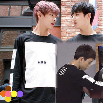 BTS Hoodie Bangtan Boys EXO Kris Got7 Sweater/Pullover Fleece Sweatershirt