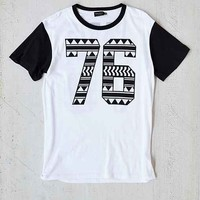 Poolhouse Paris 76 Tee- Black & White