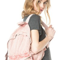 Brandy ♥ Melville |   Washed Fabric Backpack - Accessories