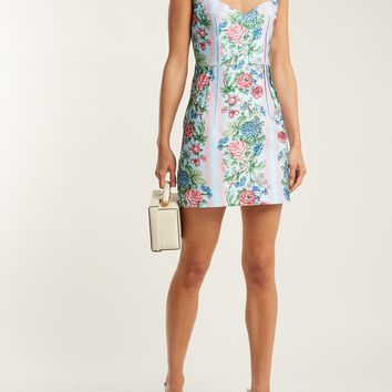 Judita floral-print cloqué dress | Emilia Wickstead | MATCHESFASHION.COM US