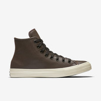 The Converse x John Varvatos Chuck II Coated Leather High Top Unisex Shoe.