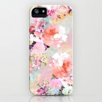 Love of a Flower iPhone & iPod Case by Girly Trend