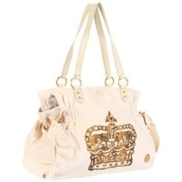 Juicy Couture Vintage Couture Shoulder Bag - designer shoes, handbags, jewelry, watches, and fashion accessories | endless.com