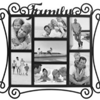 Home Profiles HP3014-70 Family Metal Collage Picture Frame: Home & Kitchen