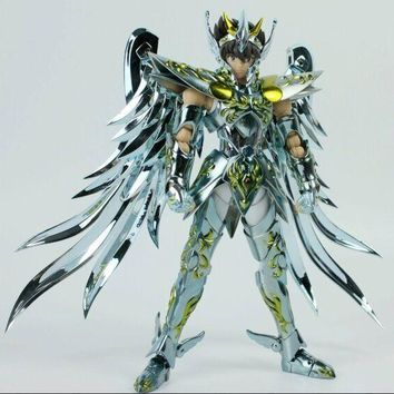 in stock Great Toys Pegasus seiya V4 GT EX god cloth EX metal armor bronze Saint Seiya action figure toy