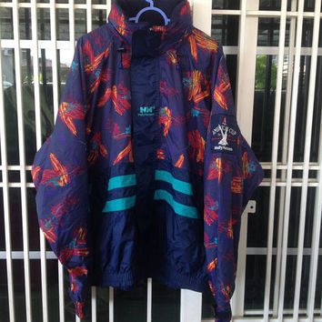 Vintage Helly Hansen America's cup jacket / raincoat