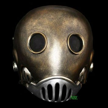 Horror The Clockwork Man Masks Halloween Hellboy Movie Masquerade Kroenen Full Face Helmet Resin Mask Adult Size Cosplay Prop