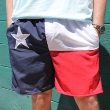 Mens Texas Flag Shorts