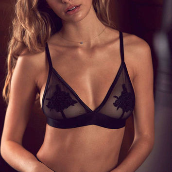 Out From Under Serena Applique Bra - Urban Outfitters