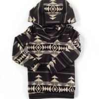 Hoodie - Aztec Sweater Knit
