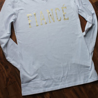 SALE!! Fiance long sleeve shirt
