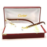 Cartier Women Popular Shades Eyeglasses Glasses