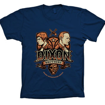 The Walking Dead Dixon Brothers Funny T-Shirt